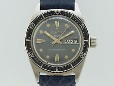 Duward Aquastar Vintage DIVER from Duward Cousteau Manual Winding 1346