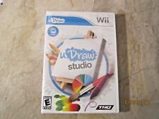 u Draw Studio, Nintendo Wii, Game only New Factory Sealed