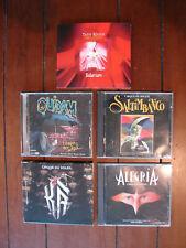 5 CDs Cirque Du Soleil  Saltimbanco - Alegria - Quidam - Solarium - Ka