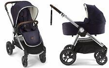 Mamas & Papas 2017 Ocarro Stroller & Bassinet Bundle in Dark Navy Brand New!!