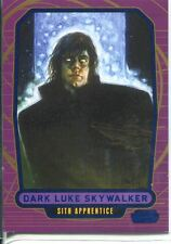 Star Wars Galactic Files Blue Parallel #218 Dark Luke Skywalker