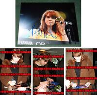 KATE NASH signed Autographed 8X10 PHOTO F - PROOF - GLOW Rare Full Signature COA