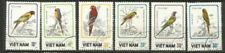 Timbres, provenance Vietnam, sur oiseaux