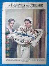 La Domenica del Corriere 25 dicembre1949 Natale - New York - B.Cornacchiola