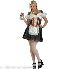 NEW Halloween BEER GARDEN Sexy Fräulein COSTUME Oktoberfest CORSET Dress XL 1X