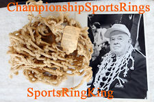 1985 VILLANOVA JAKE NEVIN NATIONAL CHAMPIONSHIP NCAA GAME USED NET & RING PRINT