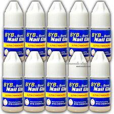 3g 10 pcs Nail Art Glue for Acrylic French False Tips  Decoration Tools