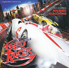 FREE US SH (int'l sh=$0-$3) NEW CD : Speed Racer Soundtrack