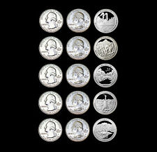 2011 P+D+S America the Beautiful National Parks ~ In Labelled Coin Flips