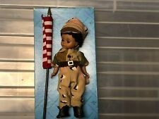 """Madame Alexander 8 inch """"Welcome Home"""" Soldier Doll with Backpack and Flag"""