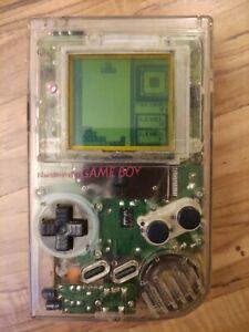 Nintendo Game Boy Transparent Handheld-Spielkonsole