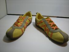 Diesel Valencia Pina/Plank 102100005067 Leather Casual Women Shoes Sz 7.5
