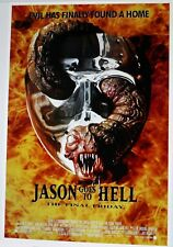 Jason goes to Hell -  Film - Poster -