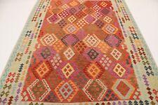 Nomaden Kelim fein Unikat Perser Teppich Orientteppich 3,01  X 2,07