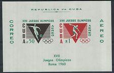 XG-J423 OLYMPIC GAMES - Havana, 1960 Italy Rome '60, Imperf. MNH Sheet