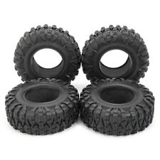 4PCS 120MM 1.9INCH Rubber Rocks Tyres Wheel Tires For 1:10 RC Rock Crawler Axial