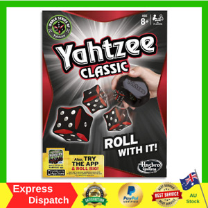 Yahtzee Classic - Family Social Game FUN GIFTS BRAND NEW FAST FREE SHIPPING AU
