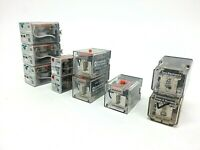 Lot of 10 Relays, Eaton, Diversified Electronics, Tyco Potter & Brumfield