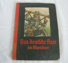 DAS DEUTSCHE HEER IM MANÖVER Sammelbilderalbum kompl.1936 Cigaretten-Bilderdiens