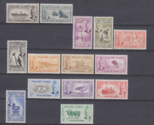 Falkland Islands 1952 Mint Mounted Set to £1 Cat £180