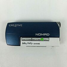 Creative Labs Nomad MuVo (Dap-Td0001) 64 Mb Usb Mp3 Player Drive Working