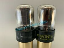 "RCA 6SN7GTA """"VERY RARE DUAL SIDE GETTERS"""" Tubes *PLATINUM MATCHED on AT1000*"