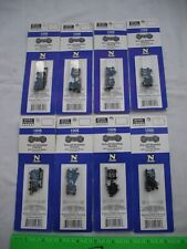 Lot of 8 Micro-Trains 1006 Roller Bearing Trucks, 1 Pair, MTL 003 02 025,N Scale
