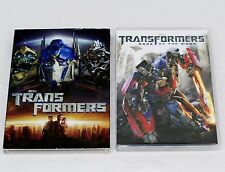2 DVD Movies - Transformers (2007) & Dark of the Moon (2011)