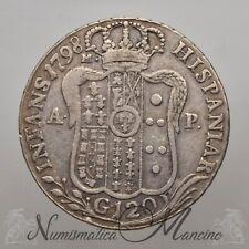 Regno di Napoli Ferdinando IV 120 Grana 1798