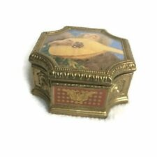 Vintage Franklin Mint Angels Of The Vatican Ceramic Music Box