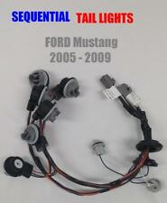 2005-2009 Ford Mustang Sequential Tail Light Harnesses Plug-and-Play