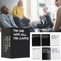 The One With All The Cards Game Party Board Games Toys- Box Against The Friend