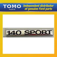 Genuine new ford transit à partir de 2006 arrière 140 sport badge/autocollant emblème 1753892
