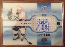 2015-16 UD Ice Sidney Crosby Signature Swatches