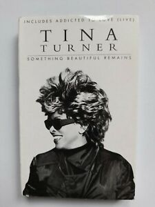 TINA TURNER, SOMETHING BEAUTIFUL REMAINS, CASSETTE SINGLE, SCARCE, CARD SLEEVE