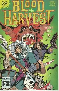 Blood is the Harvest #1-4 by Clint McElroy & Luciano Queiroz (Eclipse, 1992)