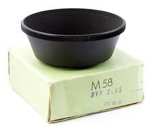 CARL ZEISS JENA Lens Hood Shade 58mm M58 for BIOTAR 1.5/75 BIOMETAR 2.8/80 (11