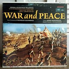 ‎War And Peace - Soundtrack - GOOD capitol SWAO 2918 Vyacheslav Ovchinnikov