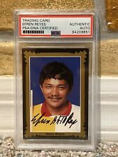 EFREN REYES SIGNED AUTO 1993 PRO BILLIARD TOUR CARD PHILIPPINES PSA PHOTO PROOF