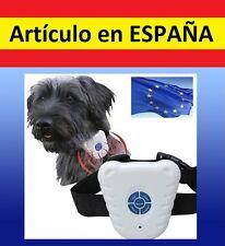 Collar antiladridos ULTRASONIDOS control perros bark ADIESTRAMIENTO aprendizaje