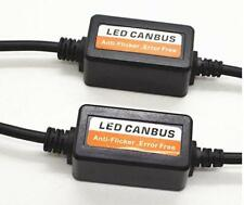 2X H4 HB2 9003 LED Canbus Anti Flicker Error Free Decoder Flash Error Canceler H