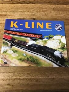 K Line Magazine Electric Trains Catalog 1999  (Y-7)