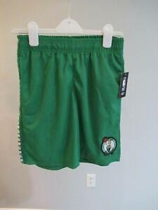 Boston Celtics NBA Basketball Boys Shorts Large 14/16
