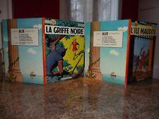LOT DE 2 ALIX LA GRIFFRE NOIRE 1968 ET L'ILE MAUDITE 1969 JACQUES MARTIN
