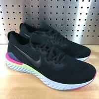 NEW Nike Epic React Flyknit 2 Men's Size 8.5 Running Shoes Black BQ8928-003