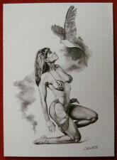 IMAGES OF JOSEPHINE - Individual Card #70 - PROPHETIC BIRD - Julie Bell