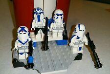 Lego Star Wars Capt. Rex, Denal, Echo & Fives 501st Blizzatd Force Snowtroopers