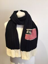 Polo Ralph Lauren Knitted Wool Blend Scarf