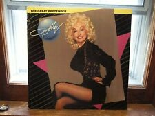 Dolly Parton ‎ The Great Pretender First Press Excellent Vinyl LP - Tested -