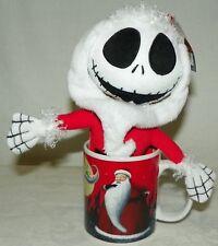 Tim Burton's The Nightmare Before Christmas Jack Skellington Plush in Red Mug